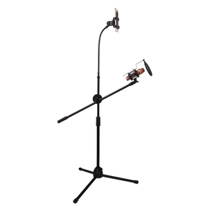 TIWA Live streaming broadcasting Microphone Stand with pop filter