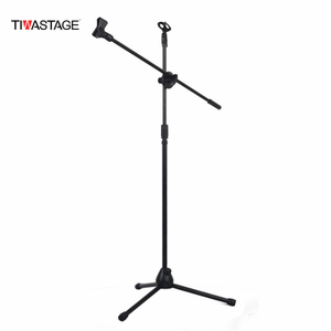 Professional Swing Floor Stand Microphone Holder