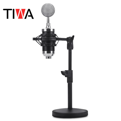 Destop Microphone shockmount stand with metal base