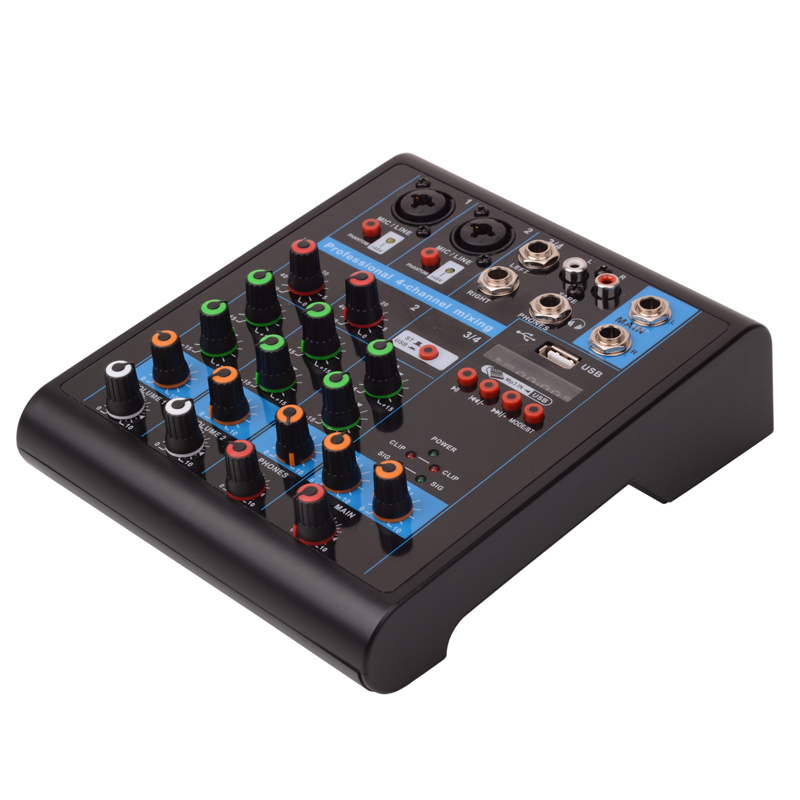 Tiwa M4S 4 channel mixing console with bluetooth