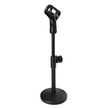 Free shipping Foldable table microphone stand height adjustable mic holder