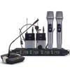 Brand New 4 Channel wireless microphone system