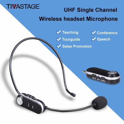 Wireless Headset Microphone for Teaching Tour Guide