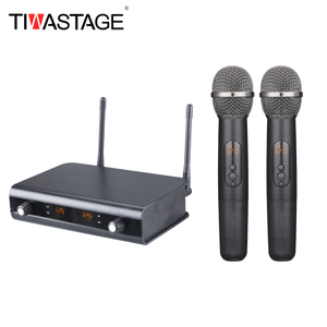 Tiwa 2 channel wireless microphone UHF with optional frequency