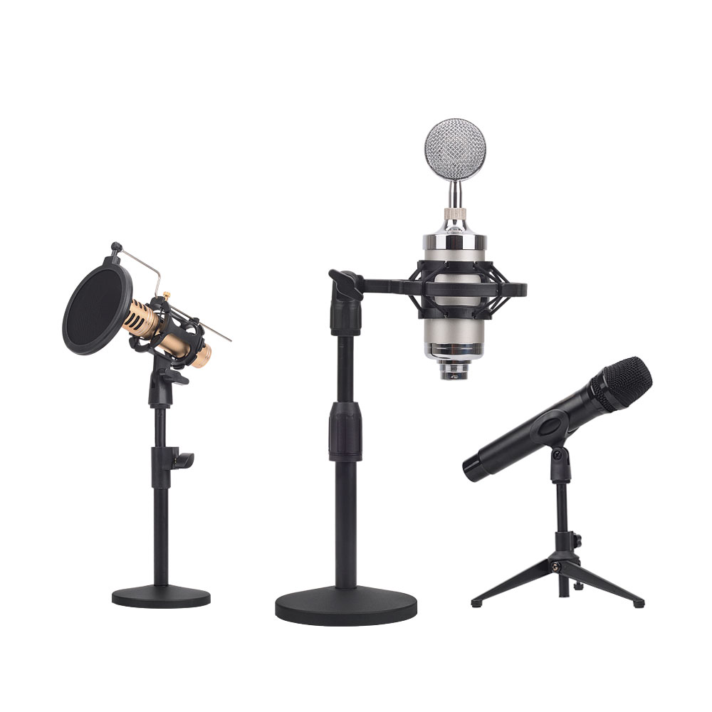 2019 Suspension Microphone Swing Arm with Pop Filter OEM/ODM recording microphone stand